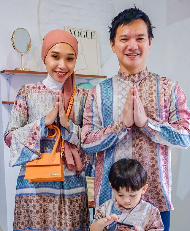 Gegfia dan suami (photo: instagram/gegfia)